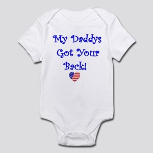 Infant Bodysuit-Daddys got your back