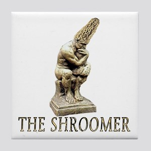 The shroomer Tile Coaster