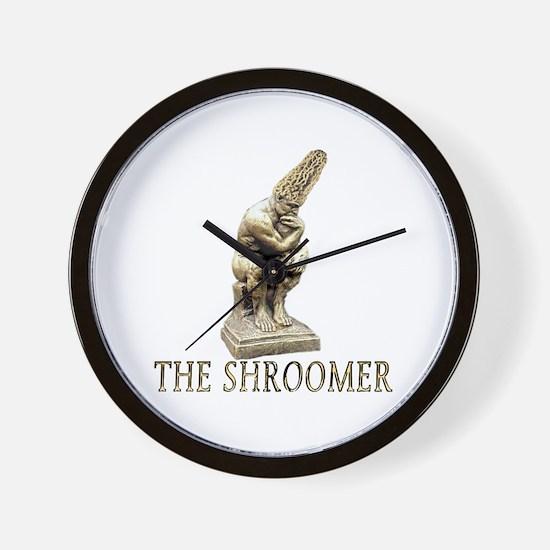 The shroomer Wall Clock