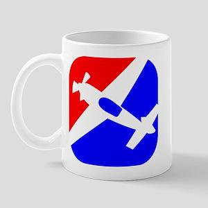 Aerobatic Aviation Red White  Mug