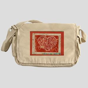 Art To Heart Star. Messenger Bag