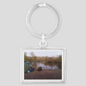 Carping Heaven Landscape Keychain