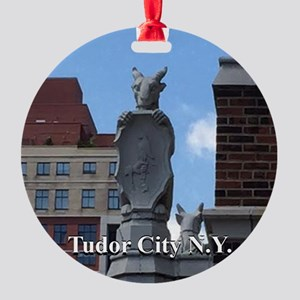 Tc Gargoyle Round Ornament