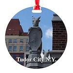 Tc Gargoyle Round Ornament