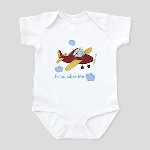 Airplane - Giraffe Infant Bodysuit