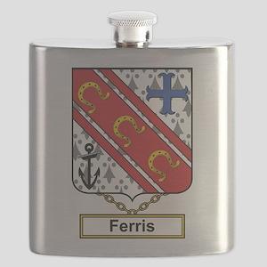 Ferris Family Crest Flask