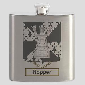 Hopper Family Crest Flask