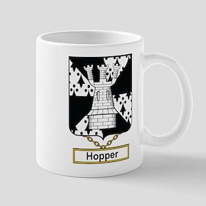 Hopper Family Crest Mugs