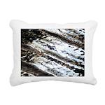 Glittering Rectangular Canvas Pillow