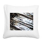 Glittering Square Canvas Pillow