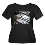 Glittering Plus Size T-Shirt