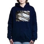 Glittering Hooded Sweatshirt