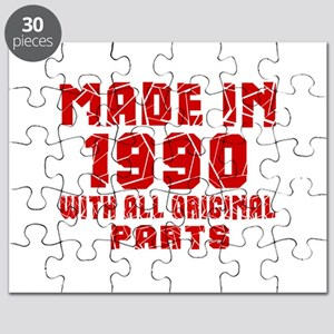Made In 1990 With All Original Parts Puzzle