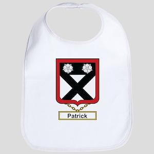 Patrick Family Crest Bib