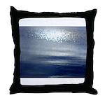 Dawn at sea Throw Pillow