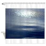 Dawn at sea Shower Curtain