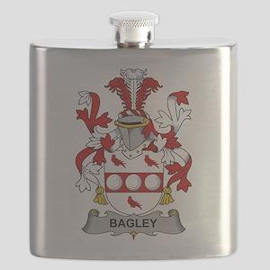 Bagley Family Crest Flask