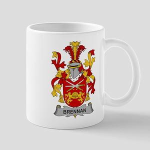 Brennan Family Crest Mugs
