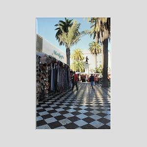 Maroc travel Rectangle Magnet