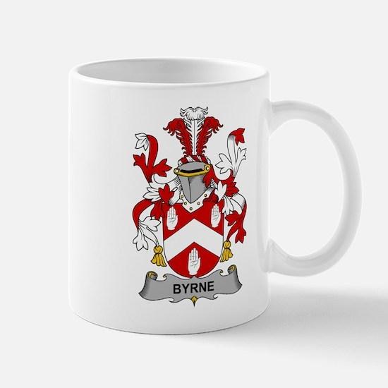 Byrne Family Crest Mugs