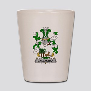 Callaghan Family Crest Shot Glass