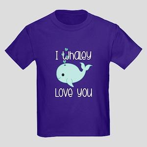 Whaley Love You Kids Dark T-Shirt