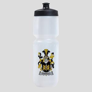 Carroll Family Crest Sports Bottle