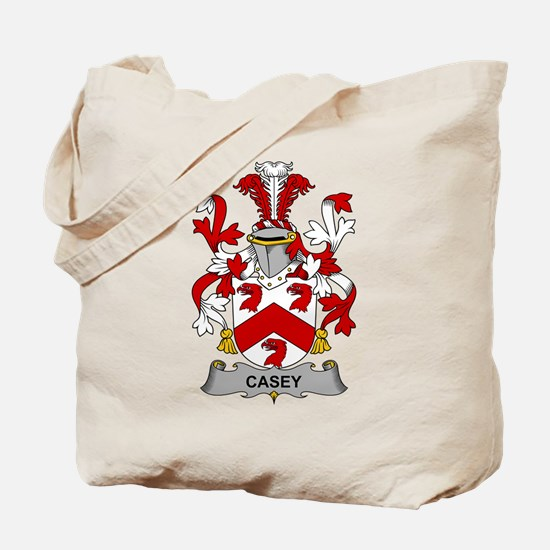 Casey Family Crest Tote Bag