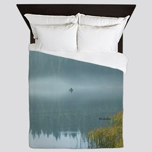 Rowboat Fishermen Queen Duvet
