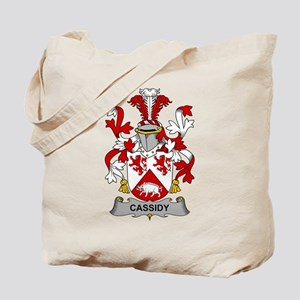 Cassidy Family Crest Tote Bag
