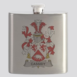 Cassidy Family Crest Flask