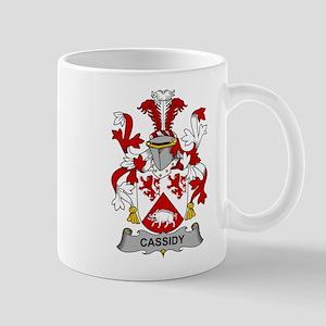 Cassidy Family Crest Mugs