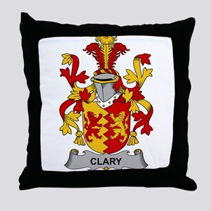 Clary Family Crest Throw Pillow