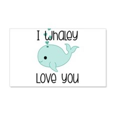 Whaley Love You (2) Wall Decal
