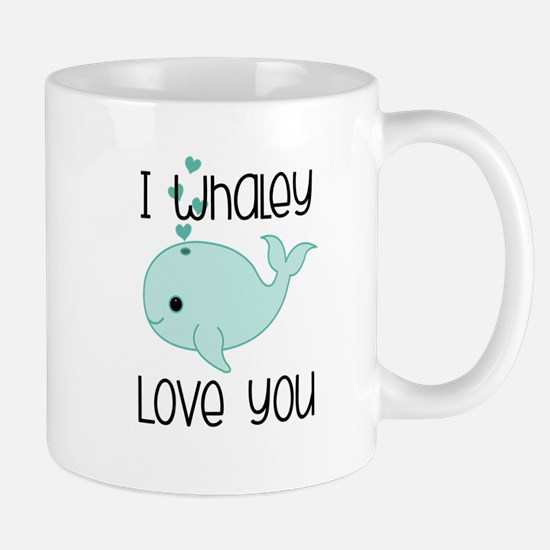 Whaley Love You (2) Mugs