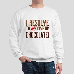 Chocolate Resolution Sweatshirt