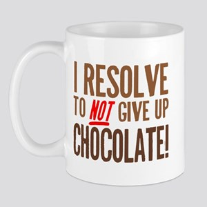Chocolate Resolution Mug