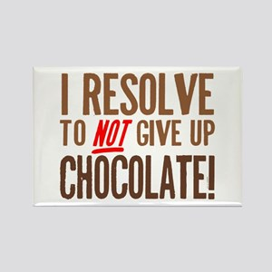 Chocolate Resolution Rectangle Magnet