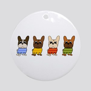 Dressed Lineup Ornament (Round)