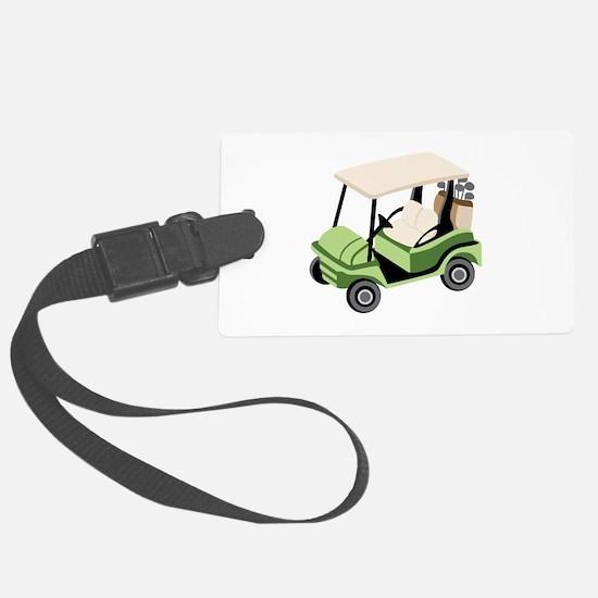 Golf Cart Luggage Tag