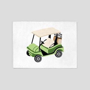 Golf Cart 5'x7'Area Rug