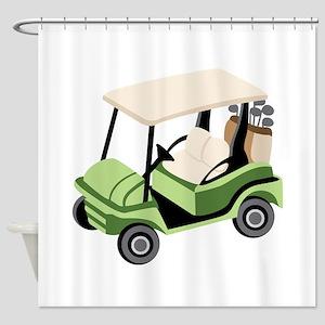 Golf Cart Shower Curtain