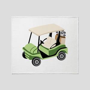 Golf Cart Throw Blanket