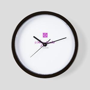 Puta / Friendly Wall Clock