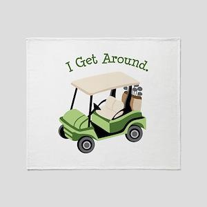 I Get Around Throw Blanket