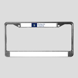 Maine Motto #4 License Plate Frame