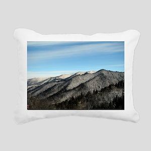 Smoky Mountains Rectangular Canvas Pillow