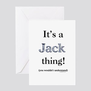 Jack Thin Greeting Cards