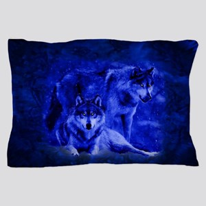 Winter Wolves Pillow Case