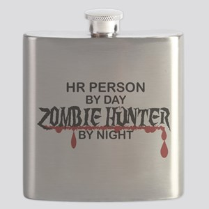 Zombie Hunter - HR Person Flask